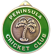 Custom Cricket Medals